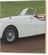 1954 Jaguar Xk120 Roadster  Wood Print