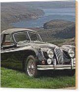 1954 Jaguar Xk140  Wood Print