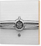 1955 Buick Special Rear Emblem Wood Print
