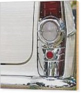 1955 Buick Special Tail Light Wood Print