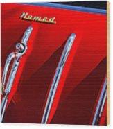 1955 Chevrolet Belair Nomad Hood Ornament -559c Wood Print