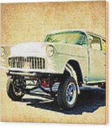 1955 Chevrolet Gasser Wood Print