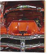 1955 Chevrolet Truck-american Classics-front View Wood Print