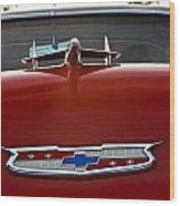 1955 Chevy Bel Air Wood Print