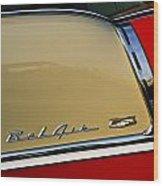 1955 Chevy Bel Air Side Panel Wood Print