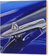 1955 Desoto Hood Ornament 3 Wood Print