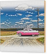 1955 Ford Crown Victoria Crossroads In Life Wood Print