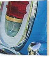 1955 Mercury Monterey Taillight Wood Print