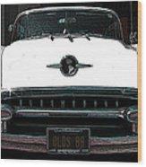1955 Oldsmobile 88 Wood Print