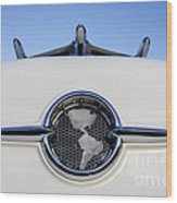 1955 Oldsmobile Wood Print