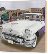1955 Oldsmobile Super 88 Wood Print