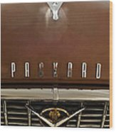 1955 Packard 400 Hood Ornament Wood Print