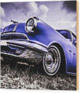 1955 Pontiac Safari Wood Print by motography aka Phil Clark