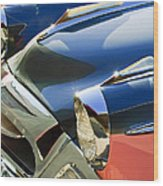 1955 Studebaker President Front End Wood Print