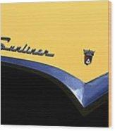 1955 Sunliner Wood Print