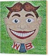 1955 Tillie - Asbury Park Wood Print