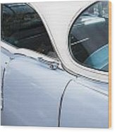 1956 Cadilac Sedan De Ville Wood Print