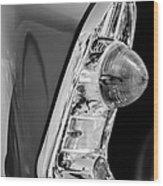 1956 Chevrolet 210 2-door Handyman Wagon Taillight -090bw Wood Print