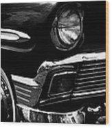1956 Chevrolet Bel Air Wood Print by David Patterson