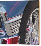 1956 Chevrolet Handyman Wagon Wheel -179c Wood Print