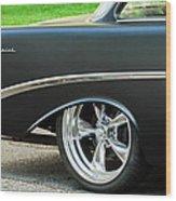 1956 Chevrolet Rear Emblem Wood Print