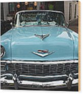 1956 Chevy Bel-air Wood Print