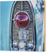 1956 Chevy Bel-air Taillight  Wood Print