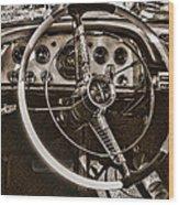 1956 Desoto Dash Wood Print