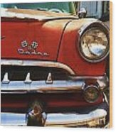 1956 Dodge 500 Series Photo 5b Wood Print by Anna Villarreal Garbis