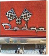 1956 Dodge 500 Series Photo 8b Wood Print