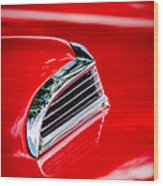 1956 Ford Thunderbird Hood Scoop -287c Wood Print