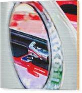 1956 Ford Thunderbird Latch -417c Wood Print