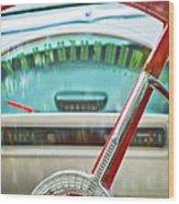 1956 Ford Thunderbird Steering Wheel -260c Wood Print