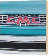 1956 Gmc 100 Deluxe Edition Pickup Truck Wood Print
