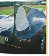 1956 Jaguar D-type Wood Print