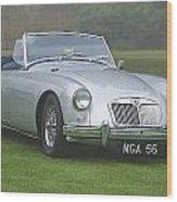 1956 Mga Roadster Wood Print