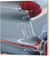 1956 Oldsmobile Taillight Wood Print