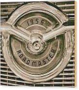 1956 Roadmaster Wood Print