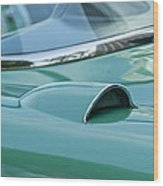 1957 Chevrolet Corvette Scoop Wood Print