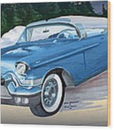 1957 Chevy Convertible Wood Print