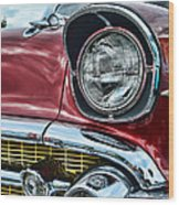 1957 Chevy - My Classic Car Wood Print