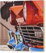 1957 Ford Fairlane Grille -205c Wood Print