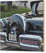 1957 Mercury Turnpike Rear End Wood Print