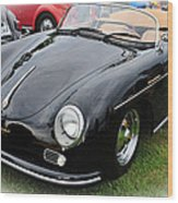 1957 Porsche Speedster 1600 Super Wood Print