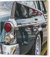 1957 Studebaker Silver Hawk Wood Print
