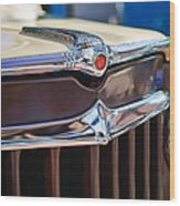 1957 Willys Wagon Grille Wood Print