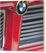 1958 Bmw 3200 Michelotti Vignale Roadster Grille Emblem -2414c Wood Print