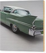 1958 Cadillac Deville Wood Print