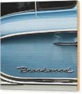 1958 Chevrolet Brookwood Station Wagon Wood Print