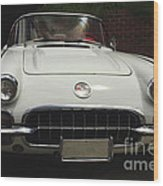 1958 Chevrolet Corvette Wood Print